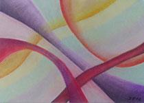 5 Wellen, 2012, Pastell auf Papier, BxH 30x21 cm