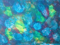 Ohne Titel 4, 2016, Acryl auf Papier, BxH 30x21 cm