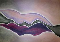 Violetta, 2014, Pastell auf Papier, BxH 60x42 cm