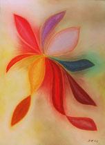Elegant, 2012, Pastell auf Papier, BxH 36x48 cm