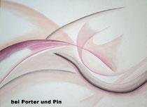 Wellen, 2013, Pastell auf Leinwand, BxH 80x60cm