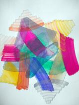 HüoSchi  2011; Mischtechnik auf Papier; BxH  44x55 cm