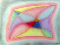 Einfach so, 2012, Pastell auf Papier, BxH 60x42 cm
