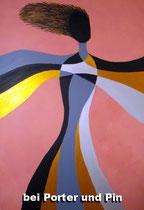 Graziella  2011; Acryl auf Leinwand; BxH  70x100 cm