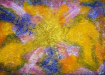 Frühling  2011; Mischtechnik auf Papier; BxH  62x42 cm