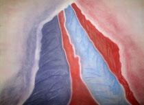 Stille Wasser, 2014, Pastell auf Papier, BxH 60x42 cm