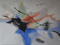 Ohne Titel 5, 2016, Acryl auf Leinwand, BxH 80x60 cm