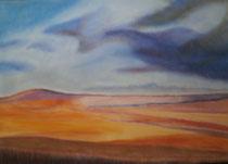 Wüste, 2016, Pastell auf Papier, BxH 60x42 cm