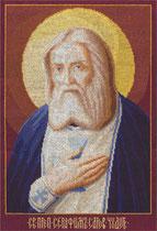 PANNA ЦМ-1075 Икона Святого Преподобного Серафима Саровского Чудотворца