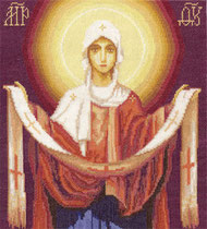 PANNA ЦМ-1270 Икона Божией Матери Покров Пресвятой Богородицы