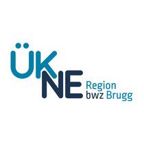 Logo ÜKNE Region bwz Brugg (2016)