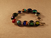 Glass bracelet.  This is for sale now, check it out on the store page.