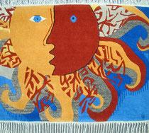 """""""Sonne"""", Louise Quartero-Bleiker, Herzogenbuchsee - 165 x 118 cm - Fr. 720.-"""
