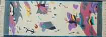 """Butterfly"", Yuvak Tuladhar, Kathmandu/USA - 67 x 166 cm - 350.-"