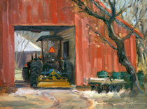 """A Day of Rest"" 11 x 14 Award of Excellence at Plein Air Southwest Salon & ""Peoples Choice"" awards"