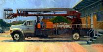 """""""Boom Truck"""" 10 x 20"""