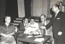 1958 Marshall Miles, Ivan Erdos, Eddie Kantar, Ernie Rovere und Nat Cohen