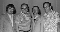 Bob Hamman, Bobby Wolff, Fred Hamilton und Ira Rubin gewannen 1979 Spingold Knockout Teams.