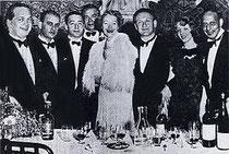 1937 Karl Schneider, Hans Jellinek, Edouard Frischauer, Paul Stern (Capt.), Josephine Culbertson (US), Walter Herbert, Helen Sobel (US), y Karl von Blöhdorn