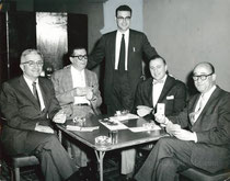 Vanderbilt winners Lee Hazen, Harry Fishbein, Ivar Stakgold, Leonard Harmon, Sam Fry Jr 1958