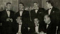 Blue Team nel 1958 (dietro: D'Alelio, Belladonna, Perroux, Forquet avanti: Chiaradia, Siniscalco, Avarelli)