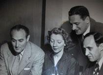 Charles Goren, Helen Sobel, Sidney Silodor , Myron Field