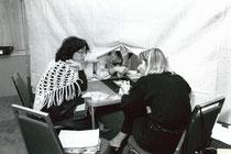 1984 Olympiad: Stella Wei, Ruth Levit und Hanita Melech