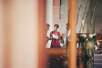 Letzte Absprachen vor der Hochzeit...