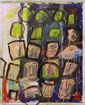 o.T., 2014, Öl auf Leinwand, 50x40cm
