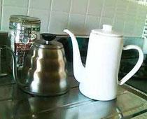 愛用のコーヒーポット