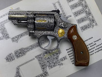 S&W Chief Special with ornamental chasing work