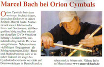 2007_02_Drums und Percussion Endorsement News