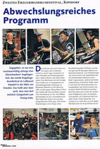 2009_07_Drums & Percussion Bericht Erzgebirgs Drumfestival Part 1