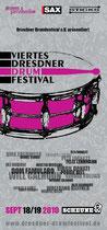 2010_Dresdner Drumfestival Flyer