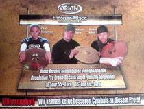 2007_Orionwerbung in der Drumheads und Drums & Percussion