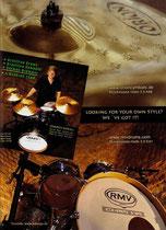 2009_02_Drums und Percussion RMV + Orion Werbung