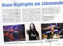 2011 Ankündigung 2. Intern. Drumfestival Erfurt