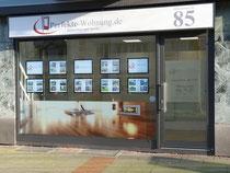 Unser Büro in der Hildesheimer Str. bei Tageslicht.