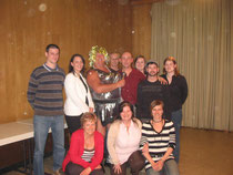 Theatergruppe Astnerixe mit Stargast TINA TURNER