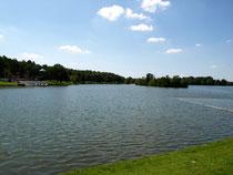Ein See wie im Urlaub