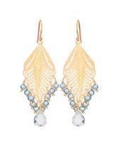 GPE1221 ice blue pearl and aqua lemuria