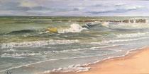 Nordseewellen - Sylt  100x50 cm °