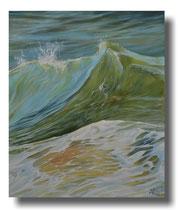 Seestück: Ocean Dreams  052015, 100x120 cm  °