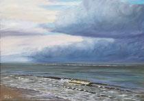 Nordsee 70 x 50 cm - 400 €