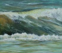 Die perfekte Welle 120 x 100 cm