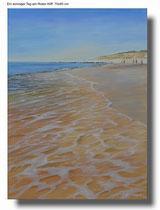 Ein sonniger Tag am Roten Kliff, Sylt   70 x 95 cm - 500 €