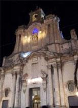 Chiesa Sant' Antonio Abate di notte