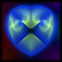 blue heart 3