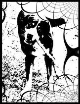 Tyron black and white