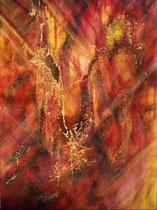 """Magma"" Acryl auf Leinwand, 60 x 80cm (450.-)"